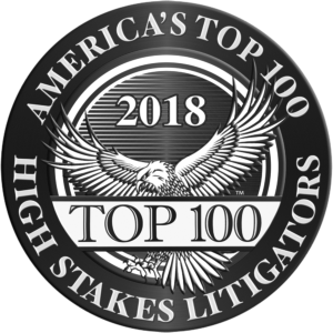 Americas Top High Stakes Litigators 2018 Top 100